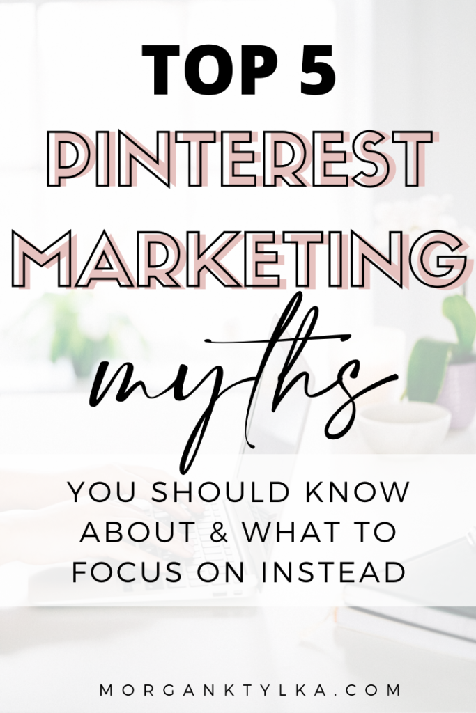 Pinterest Marketing Myths