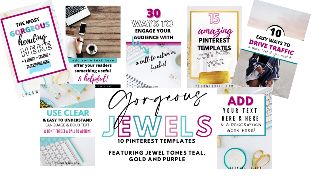 jewel pinterest templates