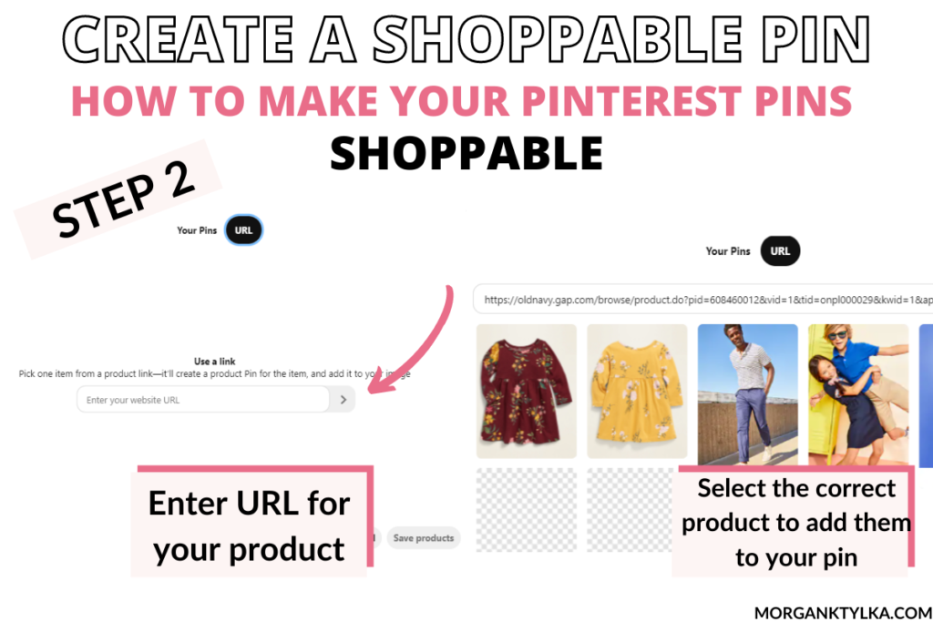 how to create shoppable pinterest pins