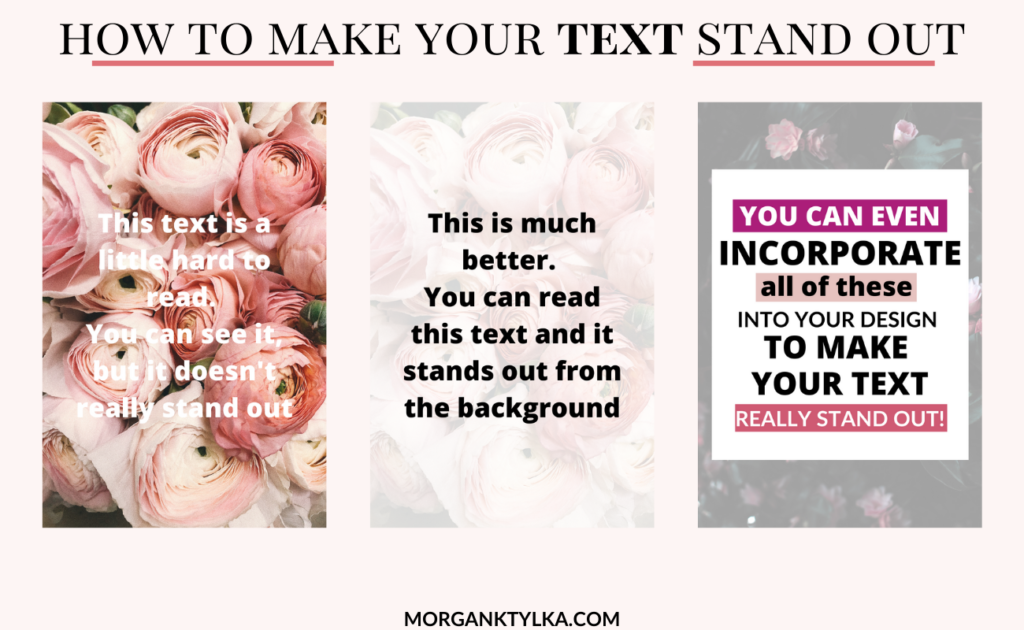 how to add text to pinterest graphics in canva