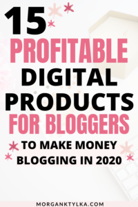 best digital products for bloggers
