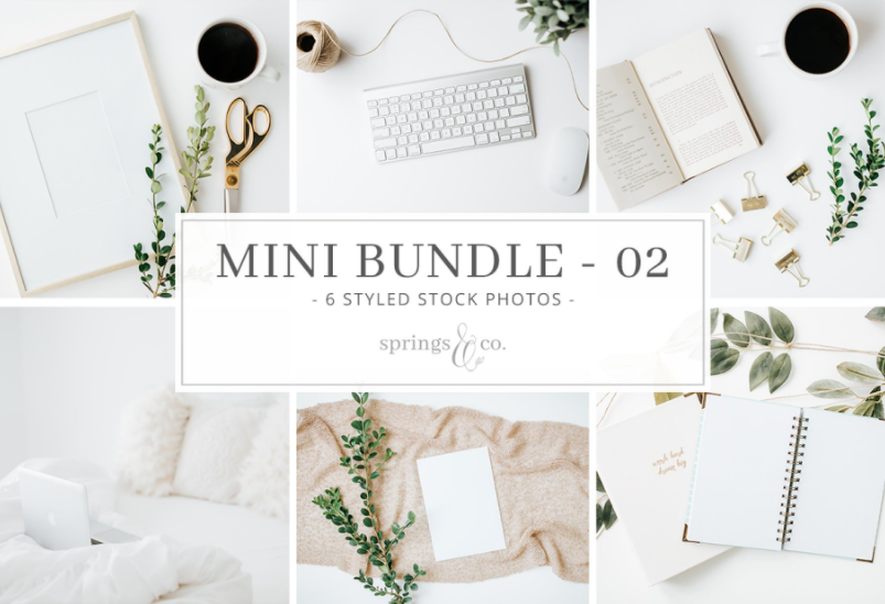 styled stock bundles for bloggers